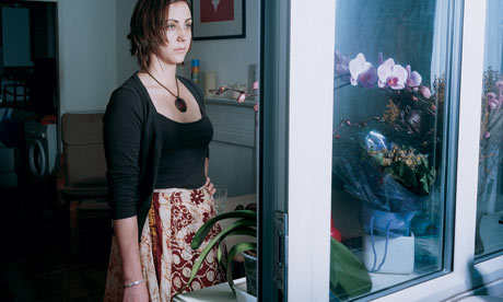 Abigail Stepnitz: 'I was terrified that the murderer might be around.' Photograph: Kalpesh Lathigra