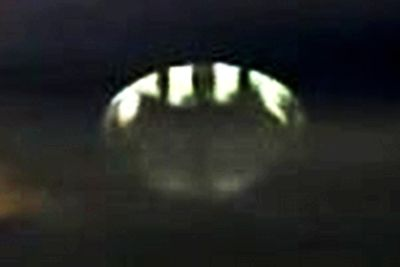 """Alien image"" in a supposed UFO"
