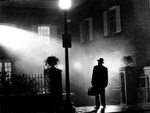 "Promotional poster for ""The Exorcist"""