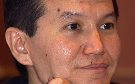 Kirsan Ilyumzhinov, the President of the republic of Kalmykia