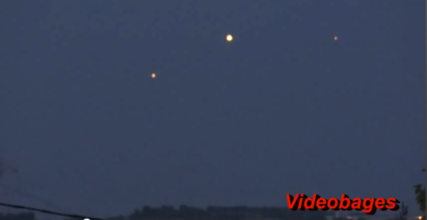 Clear UFOs Filmed Over Catalonia, Spain