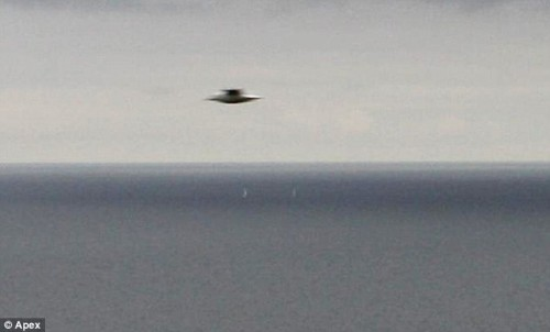 "Photo of ""UFO"" Off the Coast of Cornwall"