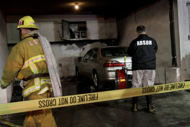 Hollywood: Arson Fires and UFOs