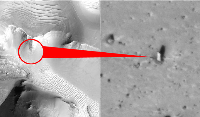 No, There's No Monolith On Mars. Or Is There?