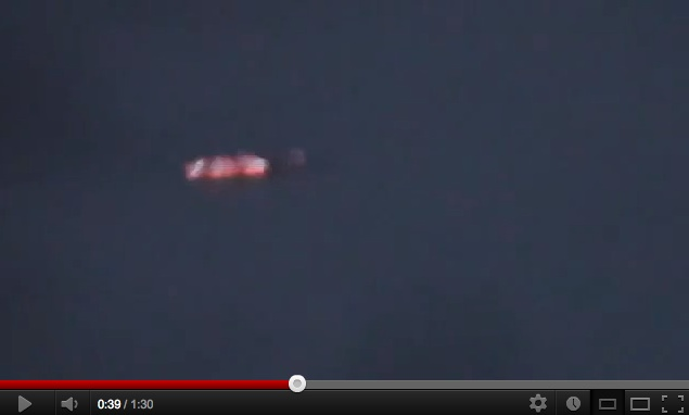 Strange Craft Flying Over Russia