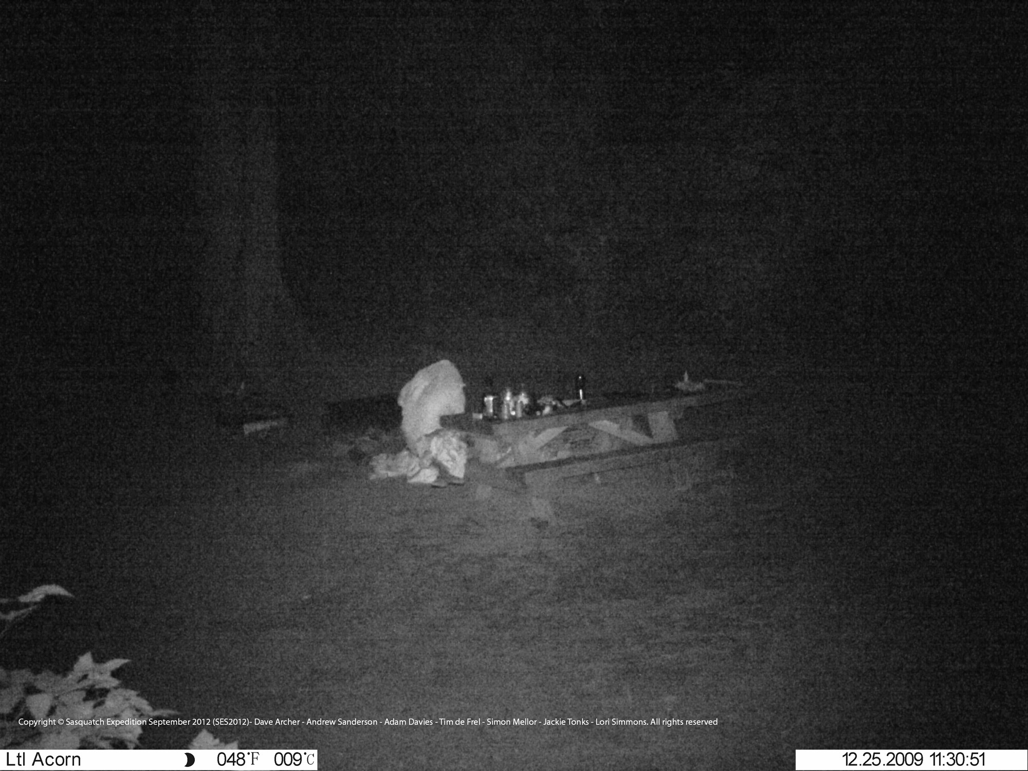 Extreme Expeditions: Cloaked Figure Caught On Camera. Sasquatch?