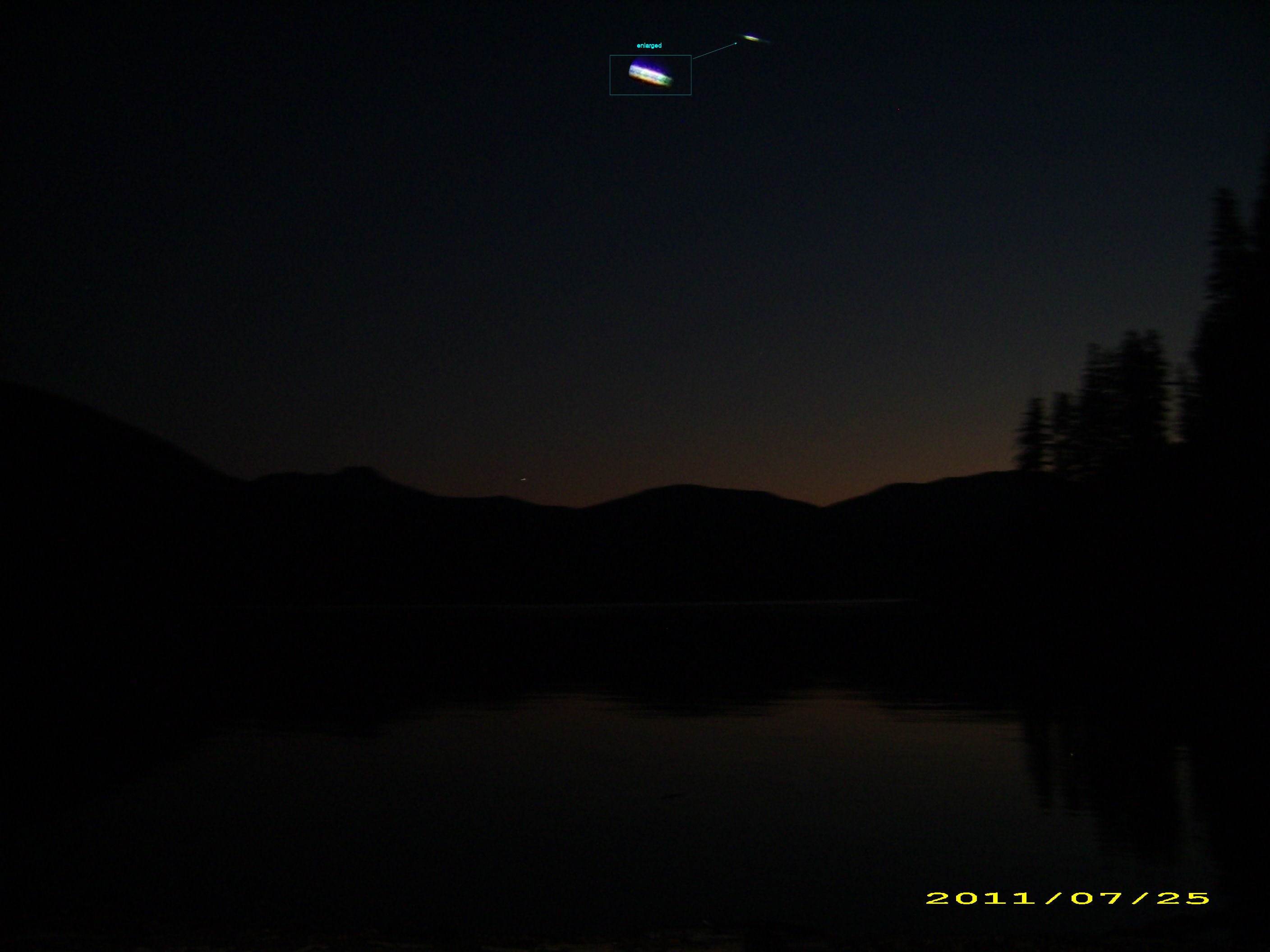 Amazing UFO Over Washington State
