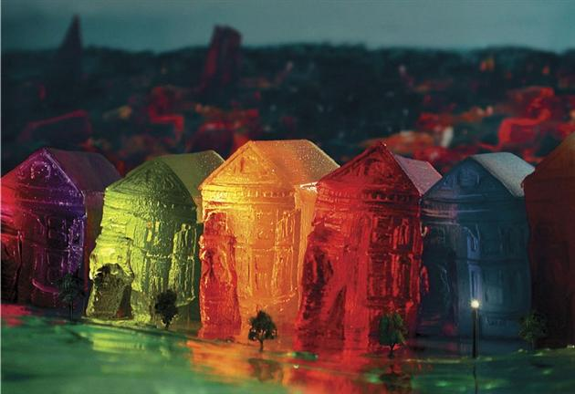 Cityscape-Jell-O-Sculptures-by-Liz-Hickok-1