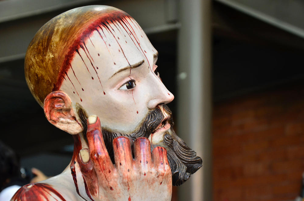 Yikes! Mexican Statue of Jesus has Real Human Teeth! | Ghost
