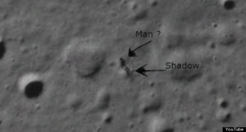 NASA: Alien on Moon