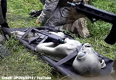 Alien Killed by Military