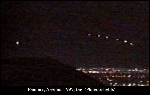 Phoenix Lights: New Video Shows Military Involvement