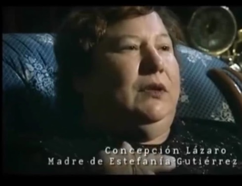 Estefania's mother, Concepcion.
